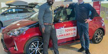 Toyota Lihn & Boi støtter talenterne